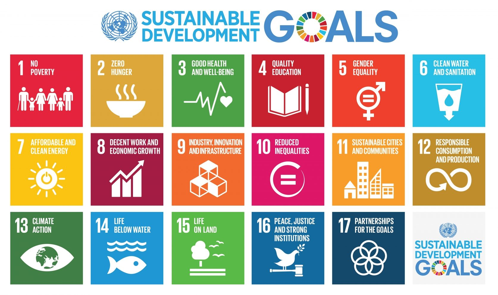 17 global goals sdgs agenda onu 2030
